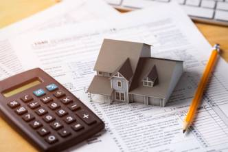 A home tax deduction concept illustrating rental income